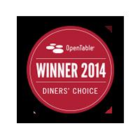 OpenTable Award